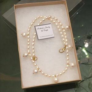 Strung Freshwater Pearl Necklace, SJC